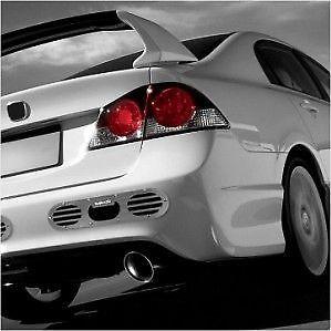 dyno-2pcs-for-universal-car-rear-bumper-air-diversion-diffuser-panel-black-silver